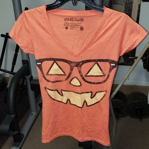 L.O.L. vintage jrs sz medium nerdy pumpkin top